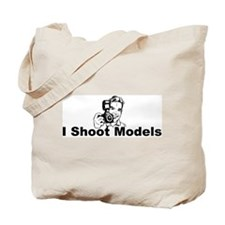I Shoot Models Tote Bag