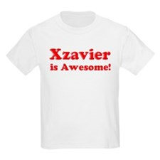 Xzavier is Awesome Kids T-Shirt