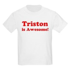 Triston is Awesome Kids T-Shirt