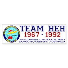 Team HEH Bumpersticker