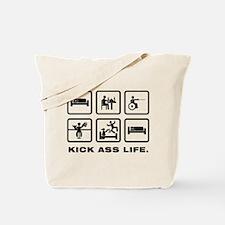 Wheelchair Fencing Tote Bag