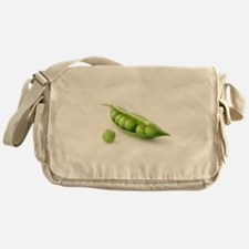 F & V - Peas in a Pod Design Messenger Bag