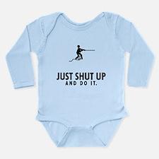 Tug Of War Long Sleeve Infant Bodysuit