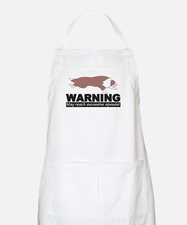 Red BC Speed Logo Grooming Apron