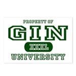 Gin University Postcards (Package of 8)