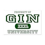 Gin University Mini Poster Print