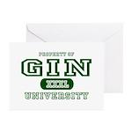 Gin University Greeting Cards (Pk of 10)