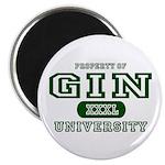 Gin University Magnet
