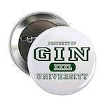 Gin University Button
