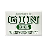 Gin University Rectangle Magnet