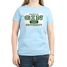 Gin University Women's Pink T-Shirt