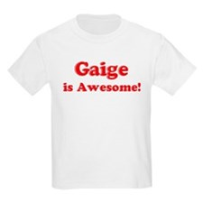 Gaige is Awesome Kids T-Shirt