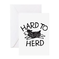 Hard to Herd Lola Greeting Card