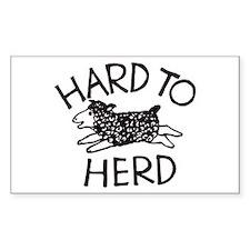 Hard to Herd Lola Decal