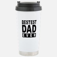 Bestest Dad Ever Travel Mug