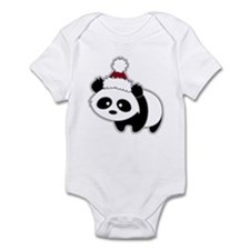 Little Christmas Panda Onesie