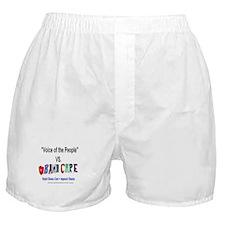 Obama Care Vs VOP Boxer Shorts