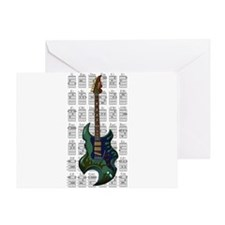 KuuMa Guitar 05 Greeting Card