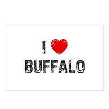 I * Buffalo Postcards (Package of 8)