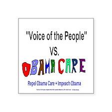 Obama Care Vs VOP Sticker