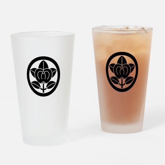 Hikone mandarin orange Drinking Glass
