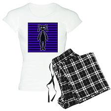 Goth Purple and Black Bunny Pajamas