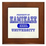 Kamikaze University Framed Tile