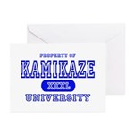 Kamikaze University Greeting Cards (Pk of 10)
