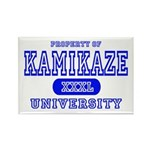 Kamikaze University Rectangle Magnet