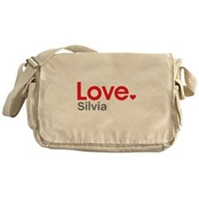 Love Silvia Messenger Bag