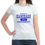 Kamikaze University Jr. Ringer T-Shirt