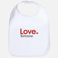 Love Simone Bib