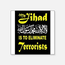 MY JIHAD Sticker
