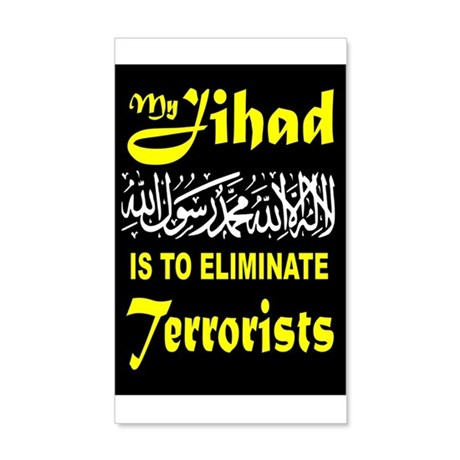 MY JIHAD Wall Decal