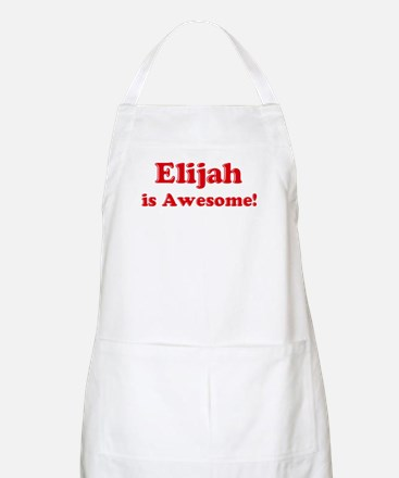 Elijah is Awesome BBQ Apron