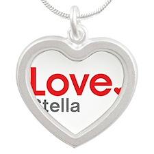 Love Stella Silver Heart Necklace