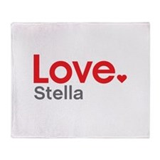 Love Stella Throw Blanket