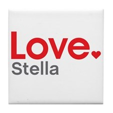 Love Stella Tile Coaster
