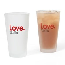 Love Stella Drinking Glass