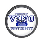 Vino University Wall Clock