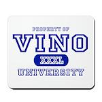 Vino University Mousepad