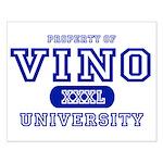 Vino University Small Poster