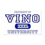 Vino University Mini Poster Print