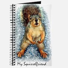Cute Squirrel tail Journal