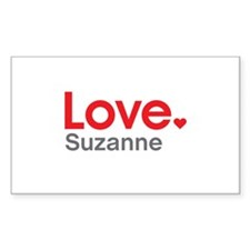Love Suzanne Decal
