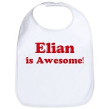 Elian is Awesome Bib