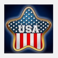 American Star Tile Coaster