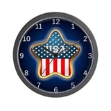 Flag american Basic Clocks