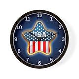 Flag american Wall Clocks