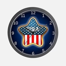 American Star Wall Clock